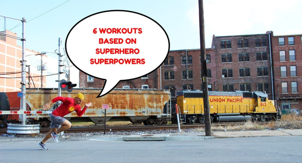 6 Workouts Based on Superhero Superpowers