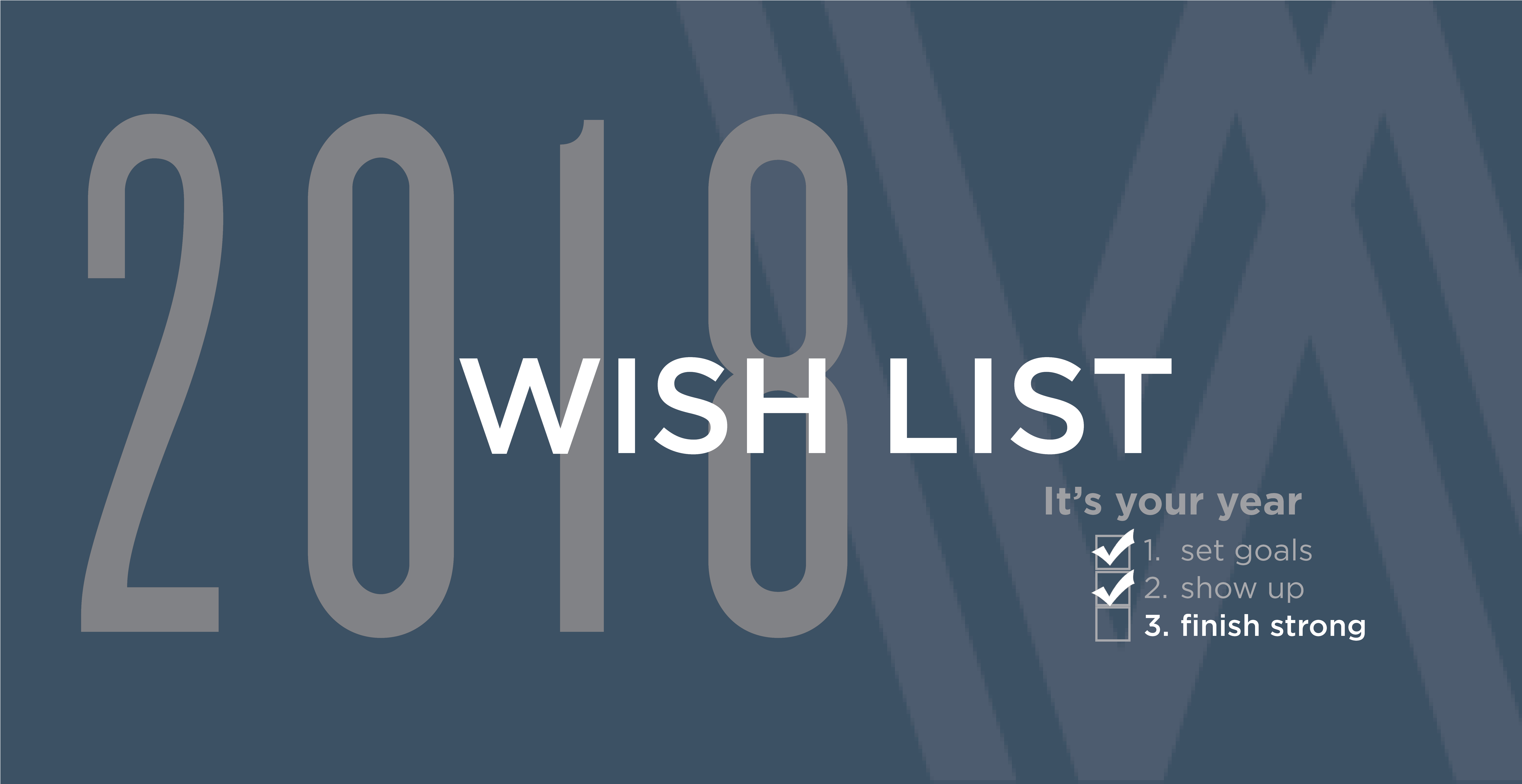 Woodside Wish List 2018